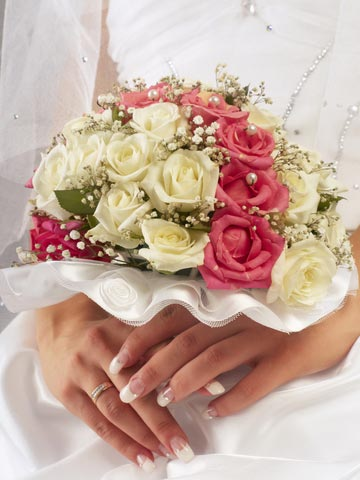 Cyber dating expert - Flowers good luck bridal bouquet ...