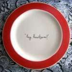 Flirty Little Dinner Plates