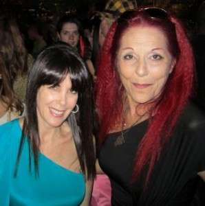 Julie Spira and Patricia Field
