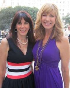 Julie Spira and Leeza Gibbons
