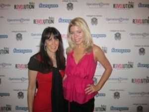 Julie Spira and Heather Meeker at The Love Party