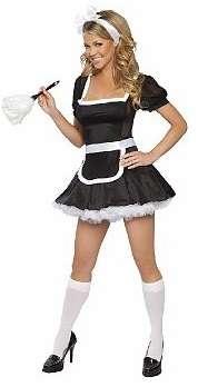 Halloween Costume French Maid