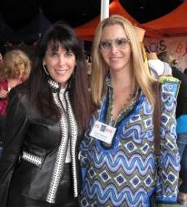 PS Arts Julie Spira and Lisa Kudrow