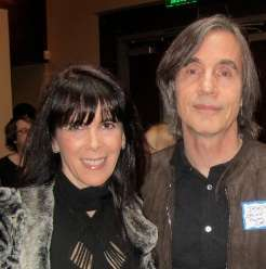 Julie Spira and Jackson Browne