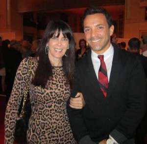 With Fashion Police co-host, George Kotsiopoulos