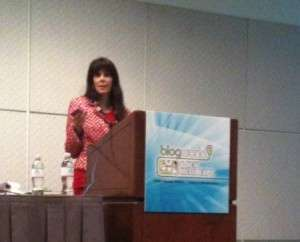 Julie Spira at BlogWorld