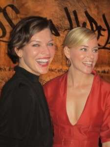 Milla Jovovich and Elizabeth Banks