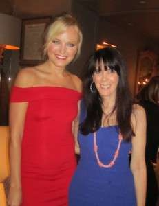 Malin Akerman and Julie Spira