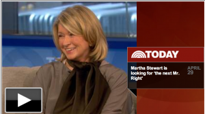 Martha Stewart - Today Show