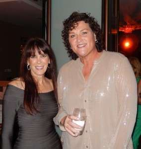 Julie Spira and Dot-Marie Jones at Prime-Time Emmy Nominees Party