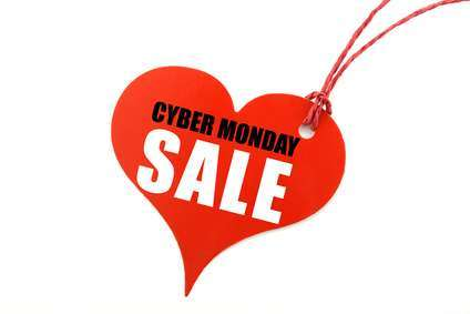 Cyber Monday Heart
