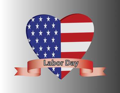 Labor Day Heart