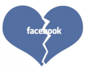 facebook breakup heart