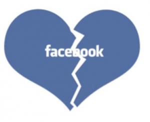 facebook breakup heart