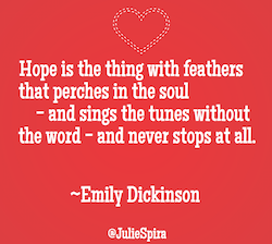 Emilhy Dickinson Love Quote