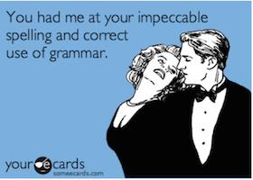 Netiquette grammar