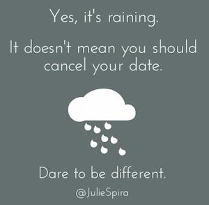 Dating Rain Storm