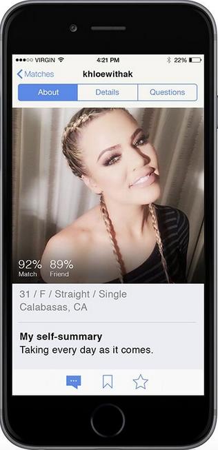 Khloe Kardashian OkCupid