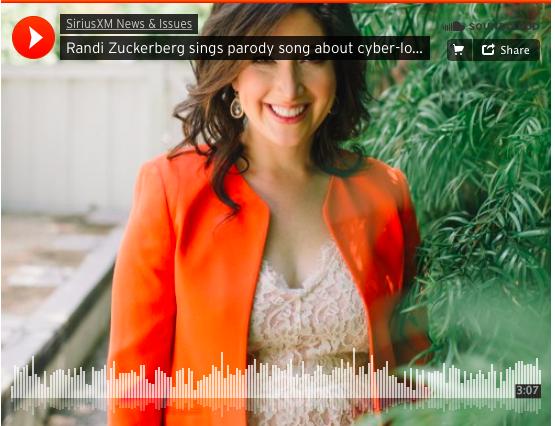 Randi Zuckerberg Sings Online Dating Parody on SiriusXM