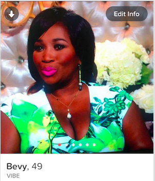Bevy Smith Tinder