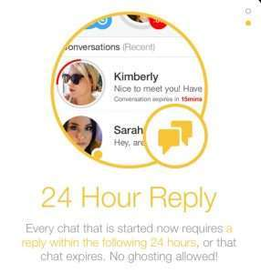 Bumble 24 hour reply
