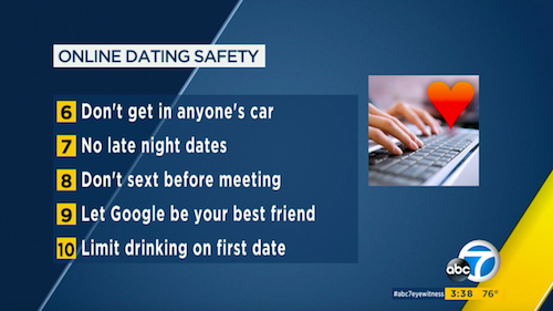 KABC Dating Safety Tips