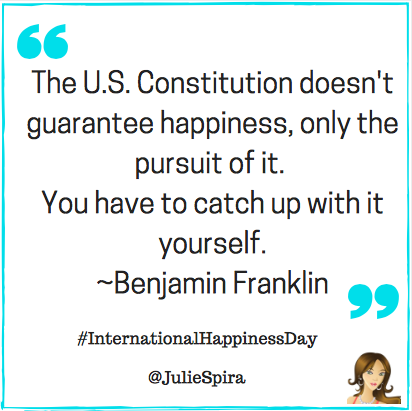 ben franklin - happiness