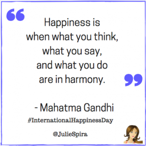 Ghandi Happiness Day