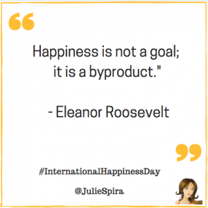 Eleanor Roosevelt Happiness