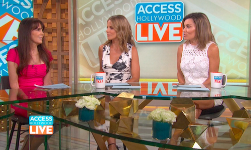 Access Hollywood Live - Julie Spira