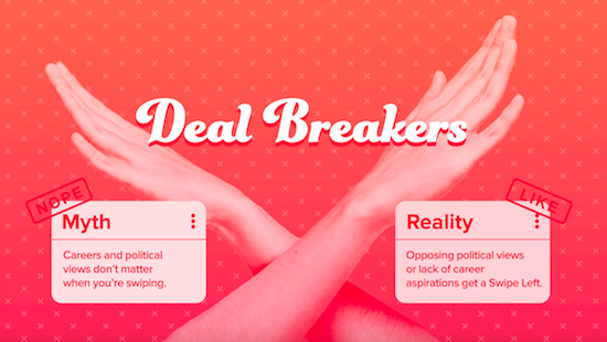 Tinder Politics Dating Deal Breakers