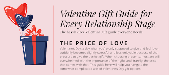 valentines gifts if you just started dating