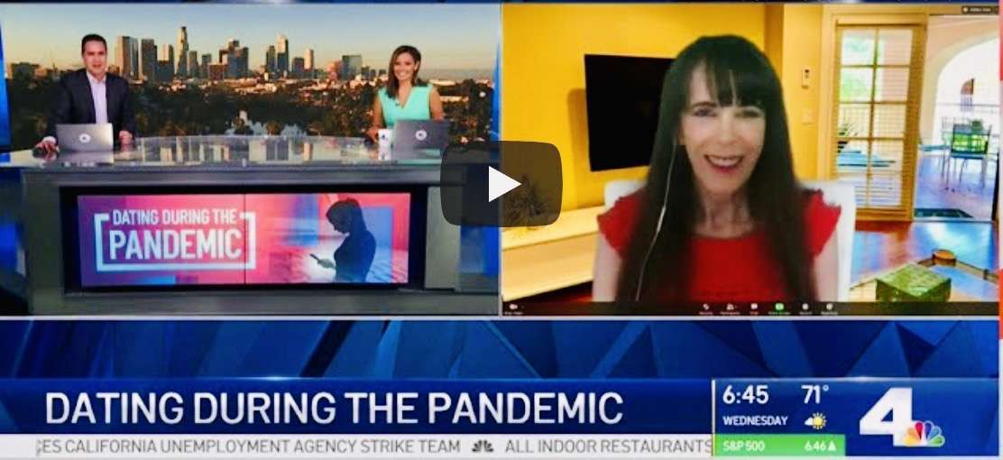 Dating During the Pandemic - Julie Spira on NBC Today in LA